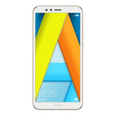 Honor 7A 16GB Dual SIM, arany, Kártyafüggetlen, Gyártói garancia