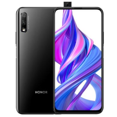 Honor 9X  4GB 128GB Dual SIM, fekete, Kártyafüggetlen, 2 év gyártói garancia