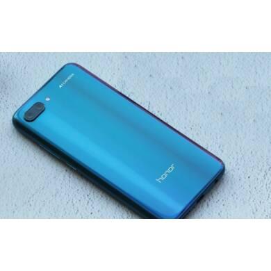 Honor 10 64GB Dual SIM, kék, Kártyafüggetlen, Gyártói garancia