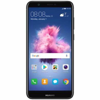 Huawei P Smart 32GB Dual SIM, fekete, Kártyafüggetlen,2 év  Gyártói garancia