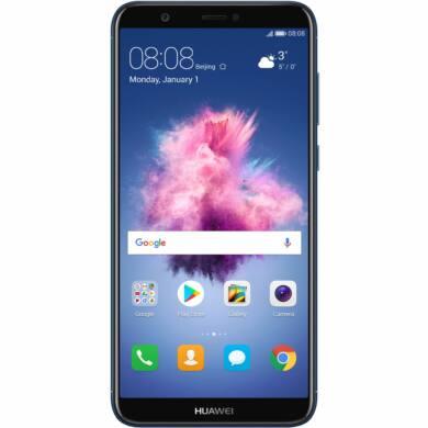 Huawei P Smart 32GB Dual SIM, kék, Kártyafüggetlen,2 év  Gyártói garancia