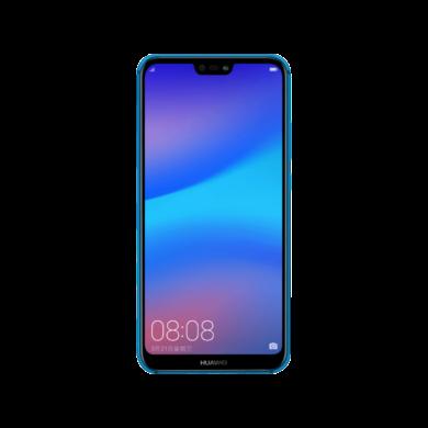 Huawei P20 Lite 64GB Dual SIM, kék, Kártyafüggetlen,2 év  Gyártói garancia