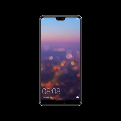 Huawei P20 128GB , éjfekete, Kártyafüggetlen,2 év  Gyártói garancia