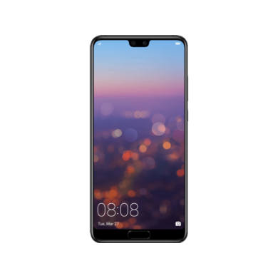 Huawei P20 128GB Dual SIM, éjfekete, Kártyafüggetlen,2 év  Gyártói garancia