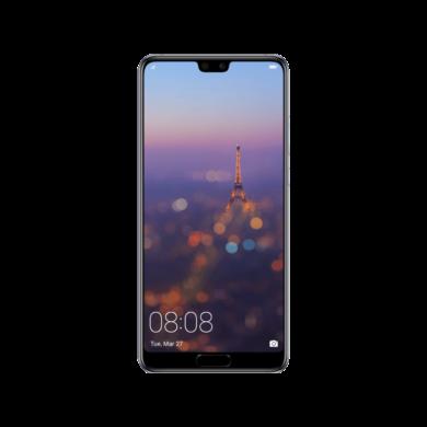Huawei P20 128GB, holdfény kék, Kártyafüggetlen,2 év  Gyártói garancia