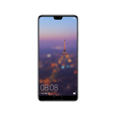 Huawei P20 128GB Dual SIM, holdfény kék, Kártyafüggetlen,2 év  Gyártói garancia