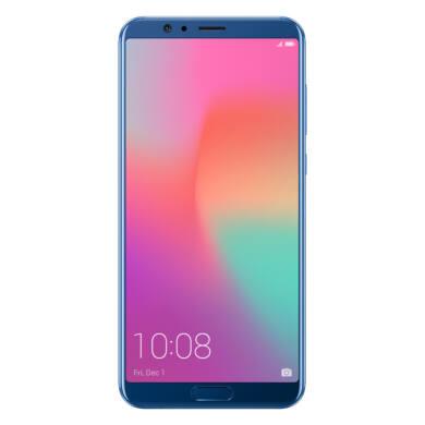 Honor View 10 128GB Dual SIM, kék, Kártyafüggetlen, Gyártói garancia