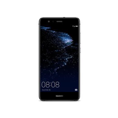 Huawei P10 Lite 32GB Dual SIM, fekete, Kártyafüggetlen,2 év  Gyártói garancia