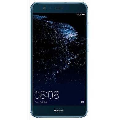 Huawei P10 Lite 32GB Dual SIM, kék, Kártyafüggetlen,2 év  Gyártói garancia