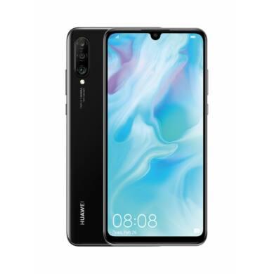 Huawei P30 Lite 256GB Dual SIM, fekete, Kártyafüggetlen, 2 év Gyártói garancia