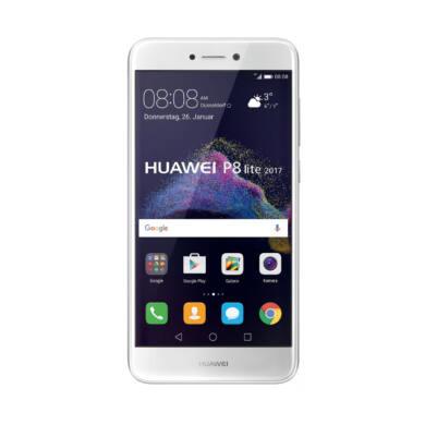 Huawei P8 Lite (2017) 16GB Dual SIM, fehér, Kártyafüggetlen,2 év  Gyártói garancia
