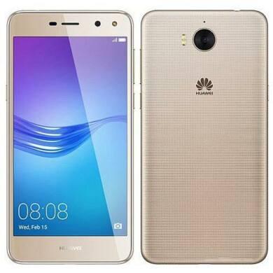 Huawei Y6 2017 16GB Dual SIM, arany, Kártyafüggetlen,2 év  Gyártói garancia