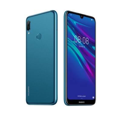 Huawei Y6 (2019) 32GB Dual SIM, kék, Kártyafüggetlen,2 év Gyártói garancia