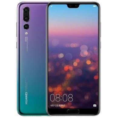 Huawei P20 Pro 128GB, twillight, Kártyafüggetlen,2 év  Gyártói garancia