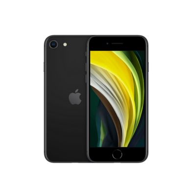 Apple iPhone SE 2020 64GB fekete, kártyafüggetlen