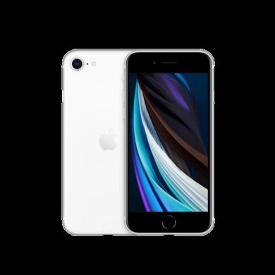 Apple iPhone SE 2020 128GB fehér, kártyafüggetlen, 1 év Gyártói garancia