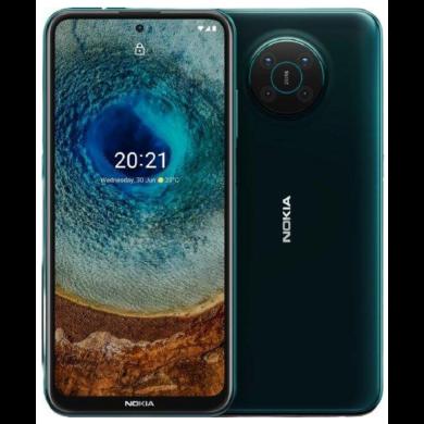 Nokia X10 5G 4GB RAM 128GB Dual Sim, zöld, kártyafüggetlen