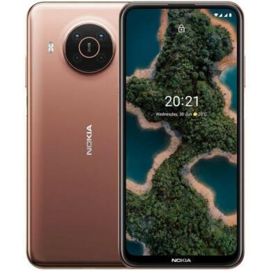 Nokia X20 5G 8GB RAM 128GB Dual Sim,bronz, kártyafüggetlen