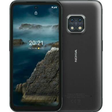 Nokia XR20 5G 4GB RAM 64GB Dual Sim, fekete, kártyafüggetlen