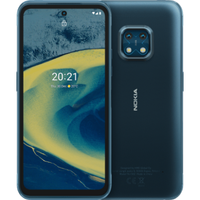 Nokia XR20 5G 4GB RAM 64GB Dual Sim, kék, kártyafüggetlen