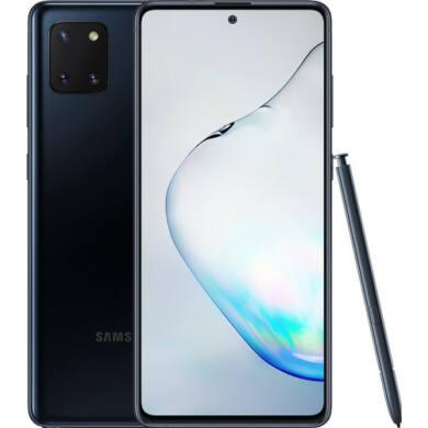 Samsung Galaxy Note 10 Lite N770F Dual SIM, 128GB, fekete, Kártyafüggetlen, 1 év Gyártói garancia