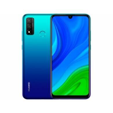 Huawei P Smart (2020) 128GB, Dual SIM, kék, Kártyafüggetlen, 2 év gyártói garancia