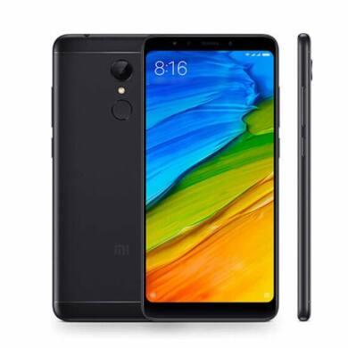 Xiaomi Redmi 5 Dual sim 3/32GB B20 (EU) - FEKETE - 1 ÉV GARANCIA