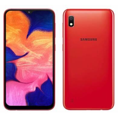 Samsung A10 A105 2GB Ram 32GB Dual, piros, Kártyafüggetlen, 1 év gyártói garancia