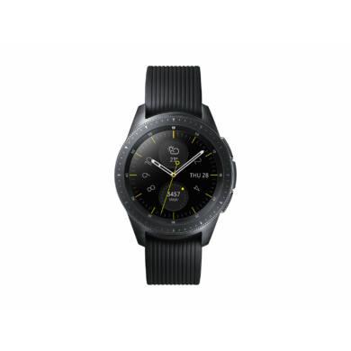 Samsung Galaxy Watch 42 mm (R810) , fekete, 1 év Gyártói garancia
