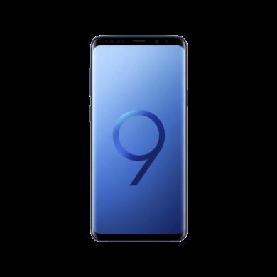 Samsung G965F Galaxy S9+ 64GB, kék , Kártyafüggetlen, 1 év Gyártói garancia