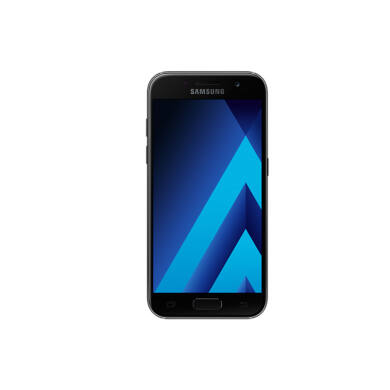 Samsung A320F Galaxy A3 (2017) 16GB, fekete, Kártyafüggetlen, 1 év Gyártói garancia
