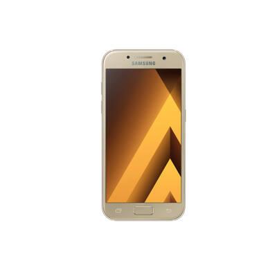 Samsung A320F Galaxy A3 (2017) 16GB, arany, Kártyafüggetlen, 1 év Gyártói garancia