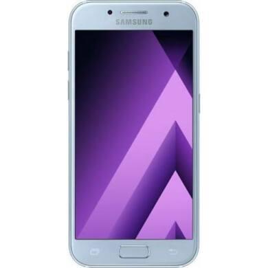 Samsung A320F Galaxy A3 (2017) 16GB, kék, Kártyafüggetlen, 1 év Gyártói garancia