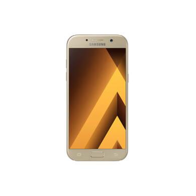 Samsung A520F Galaxy A5 (2017), arany, Kártyafüggetlen, 1 év Gyártói garancia