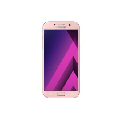 Samsung A520F Galaxy A5 (2017), barack, Kártyafüggetlen, 1 év Gyártói garancia