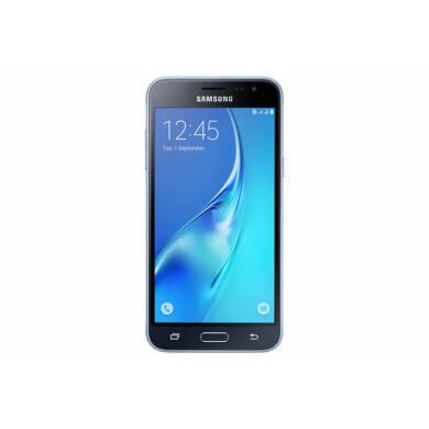 Samsung J320F Galaxy J3 (2016) 8GB Dual SIM, fekete, Kártyafüggetlen, 1 év Gyártói garancia