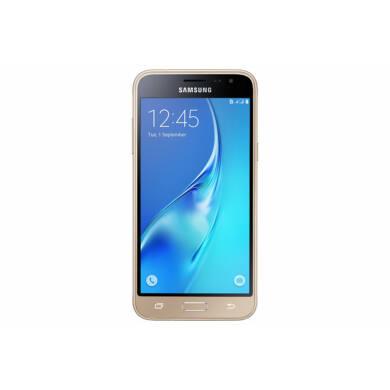 Samsung J320F Galaxy J3 (2016) 8GB, arany, Kártyafüggetlen, 1 év Gyártói garancia