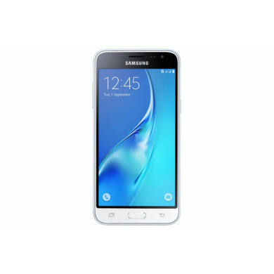 Samsung J320F Galaxy J3 (2016) 8GB Dual SIM, fehér, Kártyafüggetlen, 1 év Gyártói garancia