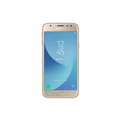 Samsung J330F Galaxy J3 (2017) 16GB Dual-Sim, arany, Kártyafüggetlen, 1 év Gyártói garancia