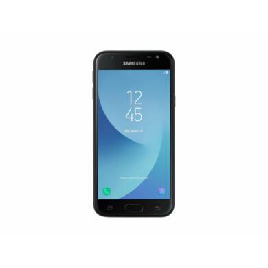 Samsung J330F Galaxy J3 (2017) 16GB Dual-Sim, fekete, Kártyafüggetlen, 1 év Gyártói garancia