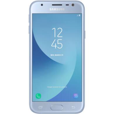 Samsung J330F Galaxy J3 (2017) 16GB Dual-Sim, kék, Kártyafüggetlen, 1 év Gyártói garancia