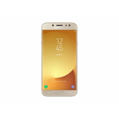 Samsung J730F Galaxy J7 (2017) 16GB Dual SIM, arany, Kártyafüggetlen, 1 év Gyártói garancia