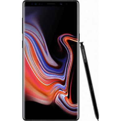 Samsung Galaxy Note 9 N960 Dual SIM, 128GB, fekete, Kártyafüggetlen, 1 év Gyártói garancia