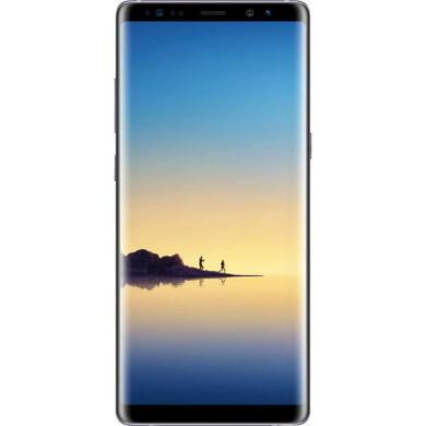 Samsung N950F Galaxy Note 8 64GB, fekete, Kártyafüggetlen, 1 év Gyártói garancia