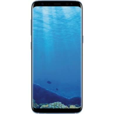 Samsung G950F Galaxy S8 64GB, kék, Kártyafüggetlen, 1 év Gyártói garancia