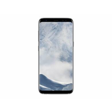 Samsung G950F Galaxy S8 64GB, ezüst, Kártyafüggetlen, 1 év Gyártói garancia