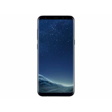 Samsung G955F Galaxy S8 Plus 64GB, fekete, Kártyafüggetlen, 1 év Gyártói garancia