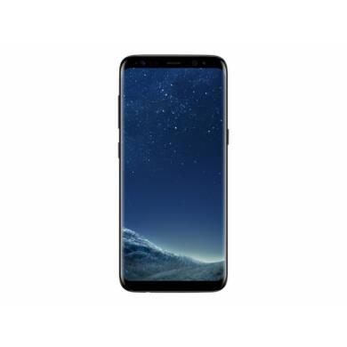 Samsung G950F Galaxy S8 64GB, fekete, Kártyafüggetlen, 1 év Gyártói garancia