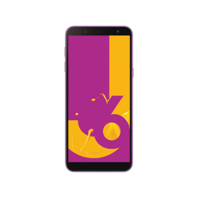 Samsung J600F Galaxy J6 (2018) 32GB, lila, Kártyafüggetlen, 1 év Gyártói garancia