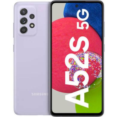 Samsung Galaxy A52s 5G Dual Sim A528 128GB 6GB RAM, lila, kártyafüggetlen